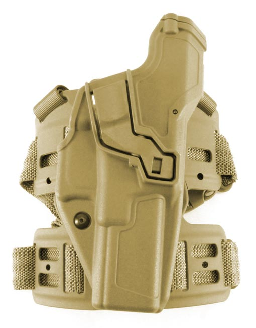 Radar L3 UK MOD Holster on Dropleg