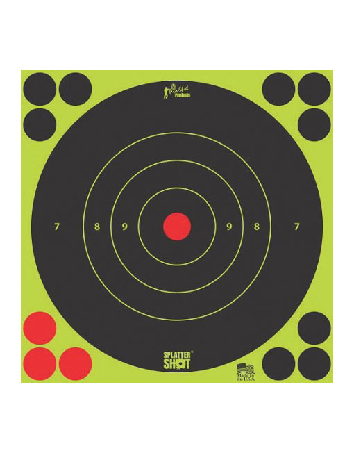 "Splatter Shot Targets 6"""
